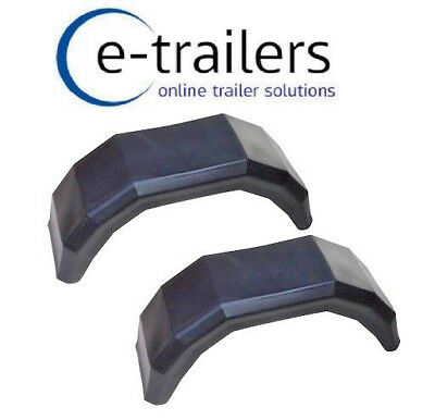 £52.44 • Buy Wide Trailer Mudguards For 20.5 8x10 Floatation 10  Tyres As Used On P6 P6e P7e