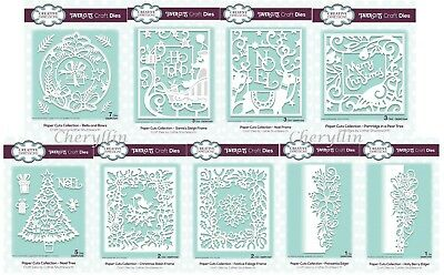 £7.65 • Buy Creative Expressions - Paper Cuts Dies - Christmas Edger Dies Collection 2018