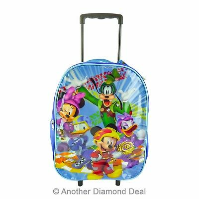 £9.99 • Buy Children's Disney's Mickey Mouse Large Budget Fold Up Trolley Bag Brand New