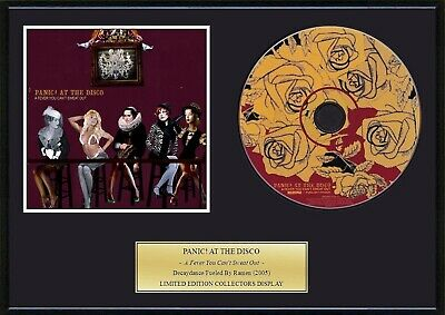 PANIC! AT THE DISCO - Framed CD Presentation Disc Display • 18.99£