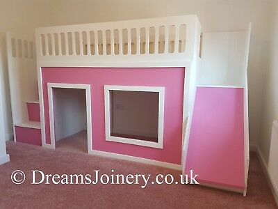 Playhouse Cabin Bed • 610£