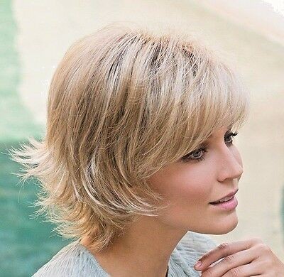 $137.77 • Buy Noriko Wig SKY Check4colors-Average Or Large-BEST SELLER-FEATHERED BOB-Cool Cap