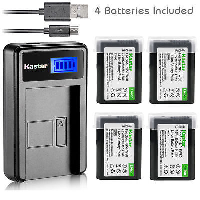 $ CDN38.12 • Buy NP-FW50 BC-VW1 Battery & LCD Slim Charger For Sony ILCE-6300 Alpha A6300