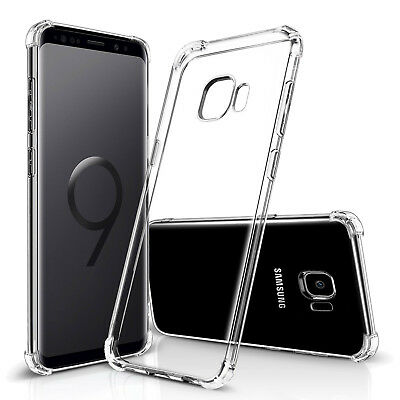 AU10.44 • Buy For Samsung Galaxy S8 S9 Plus Case Ultra Slim 360° Shockproof TPU Clear Cover
