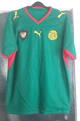 £25 • Buy Cameroon Home Shirt 2008/2009 Large