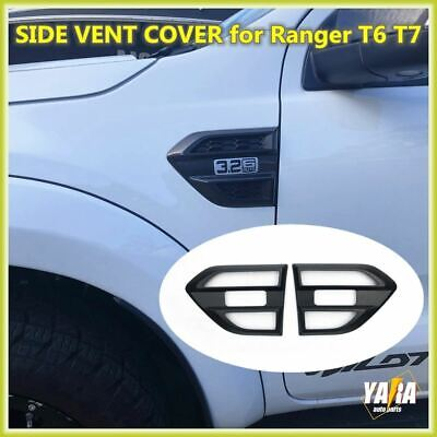 AU25 • Buy For Ford Ranger & Everest PX2 PX3 UA 2015-21 Black Side Vent Cover - Accessories