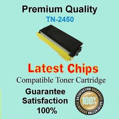 AU39.90 • Buy 3 X TN2450 TN-2450 WITH CHIP Toner Compatible For Brother HL L2350DW MFC L2713DW