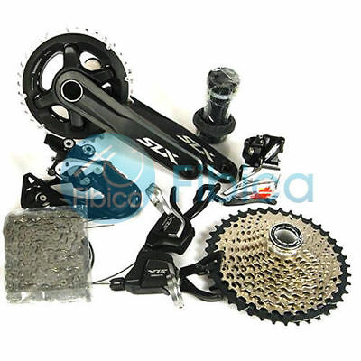 $ CDN535.64 • Buy New Shimano SLX M7000 Double 2x11 22-speed Group Groupset Set 170/175mm