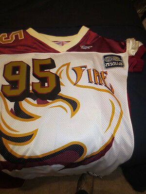 $ CDN595.74 • Buy 1995 Rhein Fire World Football League Reebok Prototype Game Jersey