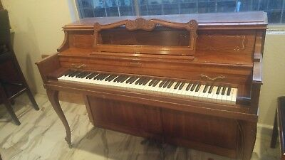 $425 • Buy 1980's Oak Baldwin Acrosonic Piano