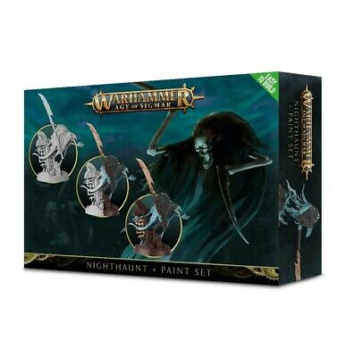 Nighthaunt + Paint Set Games Workshop Age Of Sigmar Brand New • 18£