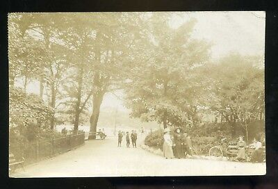 £9.99 • Buy SALFORD / SEEDLEY Lancashire Buile Hill Park People Strolling And Sitting RP