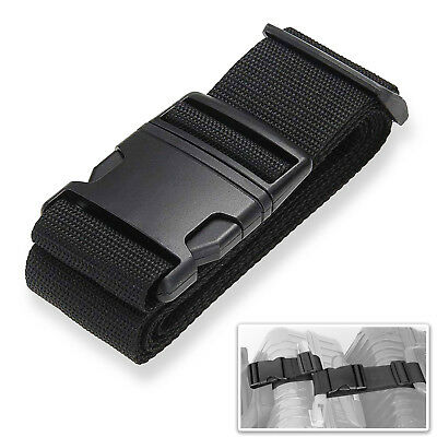 AU9.99 • Buy Travel Suitcase Luggage Strap Clip Protect Belt Easy Adjustable Buckle Strap