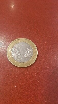 £665 • Buy Rare Charles Darwin £2 Pound Coin 2009With Anomalies- Circulated