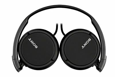 Sony Headphones MDR-ZX110 Overhead Foldable Stereo Sound Black Headband • 15.19£