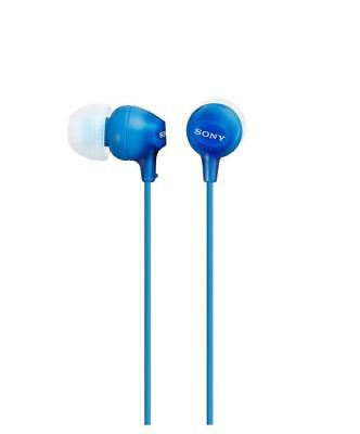 Sony Headphones MDR-EX15 In-Ear Stereo Powerful Bass - Blue EX15LP Earphones • 8.09£