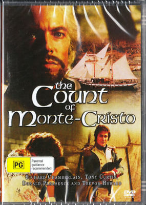 AU9.95 • Buy The Count Of Monte Cristo DVD Richard Chamberlain New And Sealed Australia All R