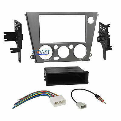 $29.95 • Buy Car Radio Stereo Single 2 Din Dash Kit Harness For 05-09 Subaru Legacy Outback