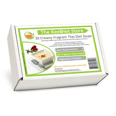 £25.99 • Buy Meal Replacement VLCD MRP Diet Weight Loss 20 X KeeDiet® Creamy Thai Diet Soup
