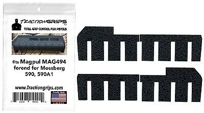 $12.50 • Buy Tractiongrips Rubber Grip Tape Fits Magpul Forend For Mossberg 590, 590A1