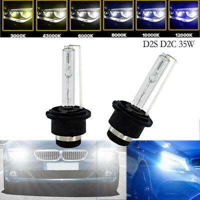 $10.99 • Buy 2 X D2S D2C 35W Xenon Headlight Bulbs HID Replacement Osram AUDI BMW MERCEDES