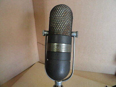 $1750 • Buy RCA 77 Vintage Ribbon Microphone Classic 1940s Broadcast  Mic TV Grey..NEW PRICE