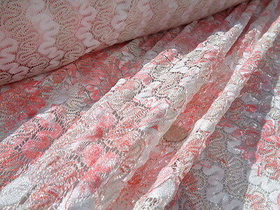 Crochet Lace 'Odanda', (per Metre) Dress Fabric, Sewing • 10.99£