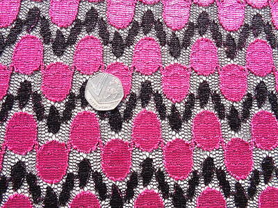 Crochet Lace 'Beatrisa', (per Metre) Dress Fabric, Sewing • 10.99£