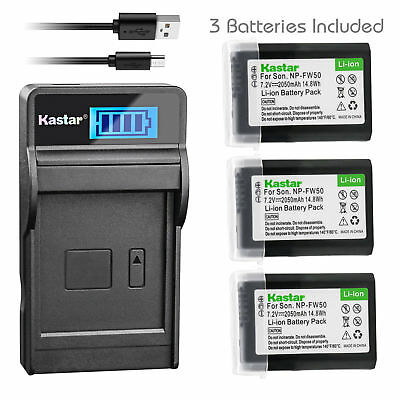 $ CDN29.86 • Buy NP-FW50 Battery & LCD Charger For Sony ILCE-6300 Alpha A6300, ILCE-QX1