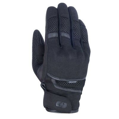 Oxford Brisbane Air Motorcycle Scooter Moped Gloves - Stealth Black • 28.99£