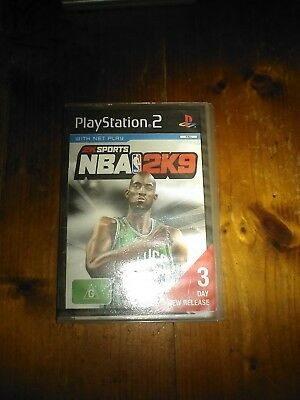 AU14 • Buy PS2  Game NBA 2K9 Basketball Playstation 2