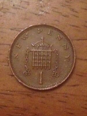 Extremely Rare 1974 New Penny 1p • 390£