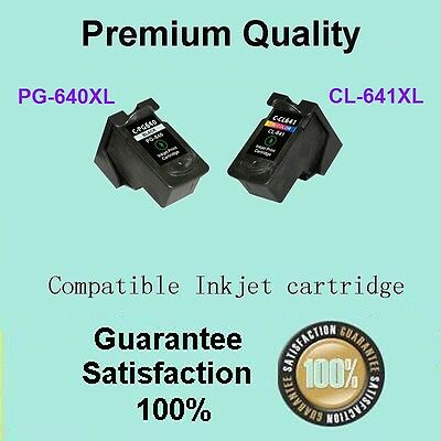 AU49.90 • Buy 2 X Canon Generic PG-640XL CL-641XL 640 641 XL Ink Cartridge Pixma MG3160 MG4260