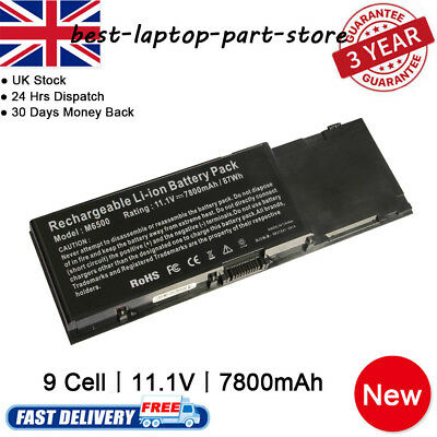 Battery For Dell Precision M6500 M6400 C565C DW554 DW842 F678F KR854 J012F • 25.99£
