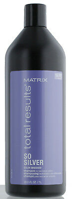 £16.73 • Buy Matrix Total Results So Silver Shampoo 33.8 Oz ( NEW PACKAGING ) Free 2-Day Ship