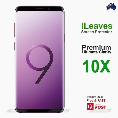 AU3.95 • Buy ILeaves Premium PET Screen Protector Film For Samsung Galaxy J7 Prime J7 Pro