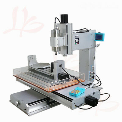 $ CDN4283.72 • Buy LY CNC 6040 Vertical Wood Router 5 Axis 1500W Spindle Metal Milling Machine