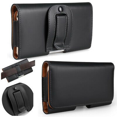 £3.99 • Buy Leather Belt Clip Wallet Hip Book Case Pouch Holder Cover IPhone 5 6 SE2020 X/XR