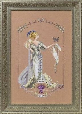 Lady Mirabilia Cross Stitch Chart Free Post • 18£