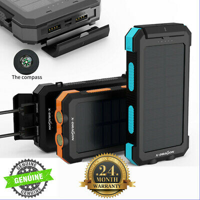 AU37 • Buy AU Portable Slim 50000mAh 2USB LCD Power Bank External LED Battery Charger Phone