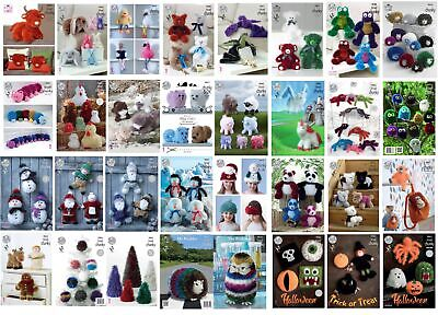 £3.49 • Buy King Cole Knitting Patterns - Tinsel Chunky - All Designs - Toys Christmas