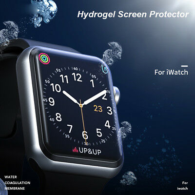 $ CDN3.88 • Buy ILeaves Premium Hydrogel Film Screen Protector For Apple Watch Series 1 2 3 4