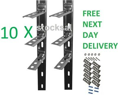 10 X STRONG-TIE CROCODILE WALL STARTER KIT / STAINLESS STEEL WALL STARTER KIT • 79.99£