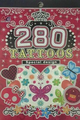 PARTY Tattoos Tatoo 6 Sheet BOYS GIRLS Temporary Fake Body Art • 2.99£