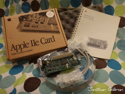 $689.99 • Buy Apple IIe Card & Y-Cable Mac LC PDS Mint Vintage RARE Part RETAIL BOX M0444LL/D