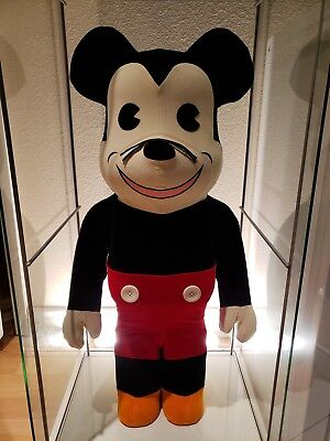 $2000 • Buy Medicom 2012 BWWT 2 Disney 1000% Mickey Mouse Flocked Bearbrick