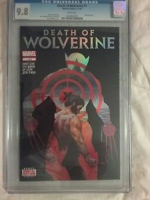 AU399.50 • Buy The Death Of Wolverine CGC Holofoil Cover Comic Book Set Of 4 9.6 To 9.8 Graded