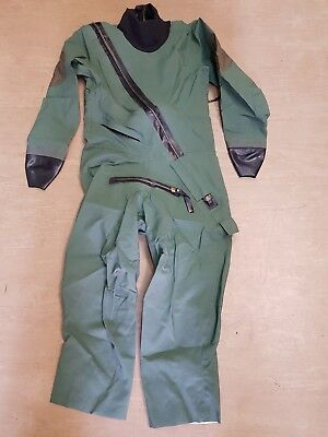 Genuine RAF RFD Beaufort Sage Green Immersion Protection Suit Size 2A • 84.95£
