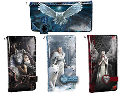 NEW 18.5cm PURSE ANNE STOKES NEMESIS NOW OWL WOLF FAIRY ONLY LOVE REMAINS • 19.99£
