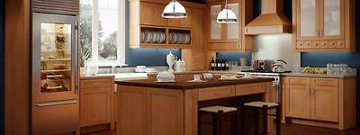 $1650 • Buy Forevermark Natural Shaker All Wood Top Quality RTA Kitchen Cabinets 10x10